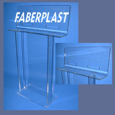atril soporte metacrilato plexiglas tv