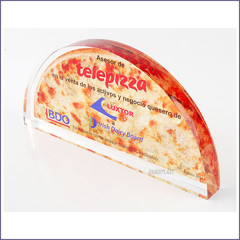 bloque metacrilato telepizza