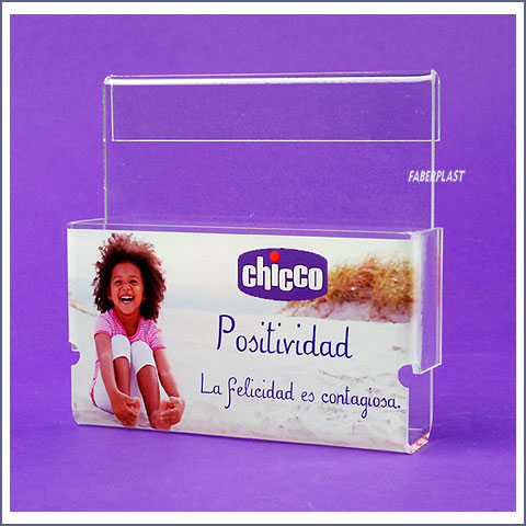 portafolletos metacrilato chicco