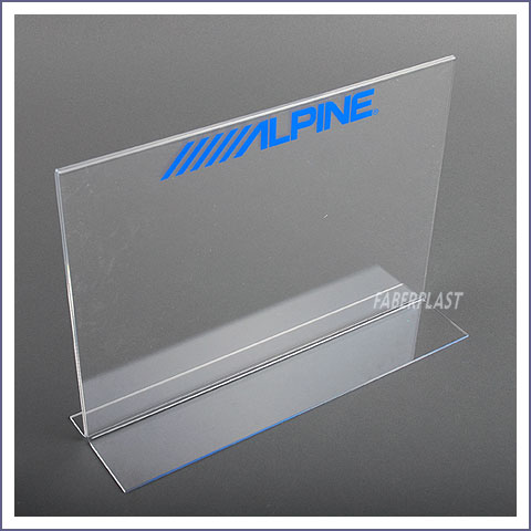 display portahoja metacrilato plexiglas alpine