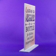 Display metacrilato MESSAGE IN A BOTTLE