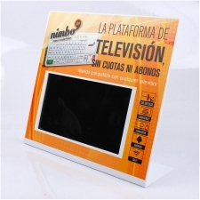 Expositor Metacrilato Tablet Nimbo Tv