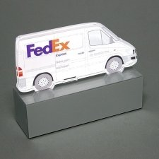 Trofeo metacrilato FEDEX