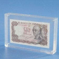 Tombstone Metacrilato Billete