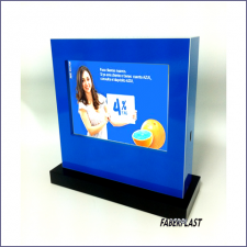 Carcasa Pvc Digital Signage Con Base