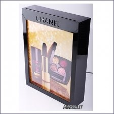 Expositor Metacrilato Leds Chanel