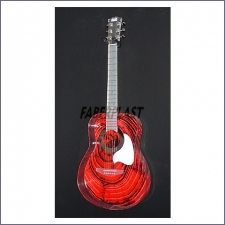Guitar Faber Decorada