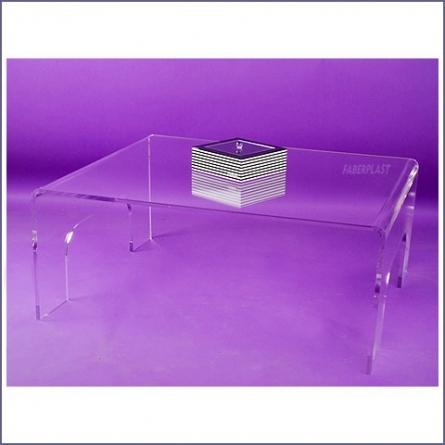 Mesa metacrilato de centro gran tama o mesas de metacrilato decoraci n en metacrilato - Mesa centro metacrilato ...