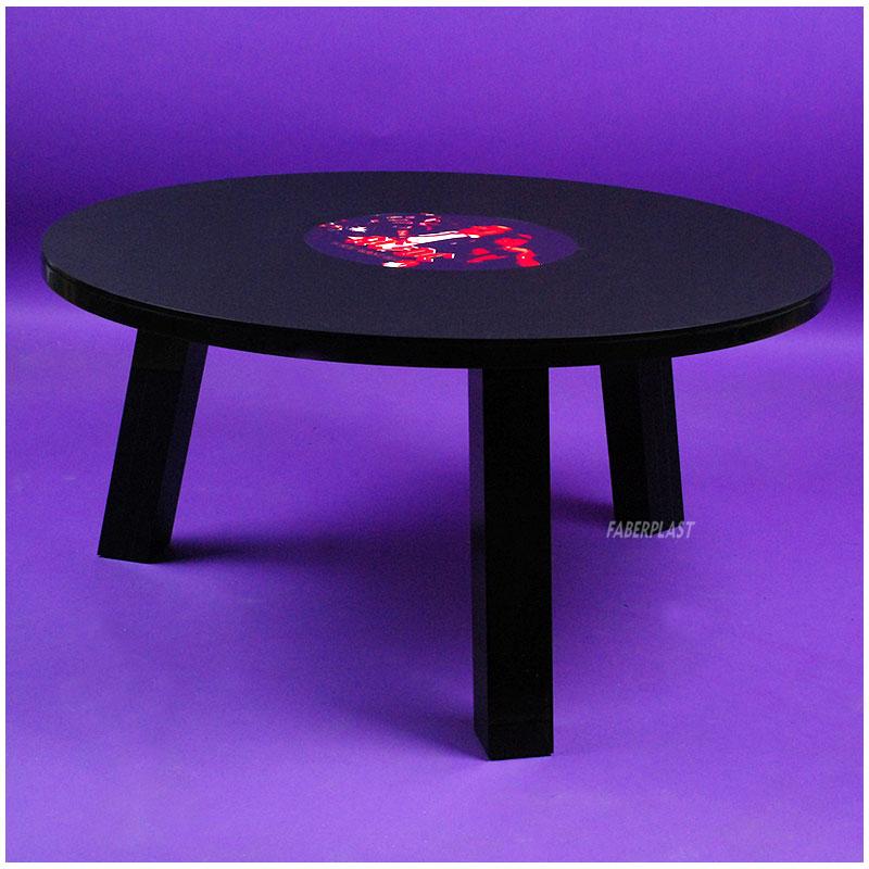 Mesa metacrilato negro acdc mesas de metacrilato decoraci n en metacrilato - Mesas de metacrilato ...