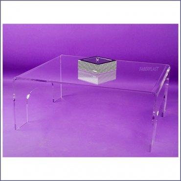Decoraci n y mobiliario de metacrilato plexiglas pmma faberplast - Mesas de metacrilato ...